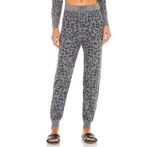 NWT Heartloom Iris Jogger Leopard Lounge Pants S